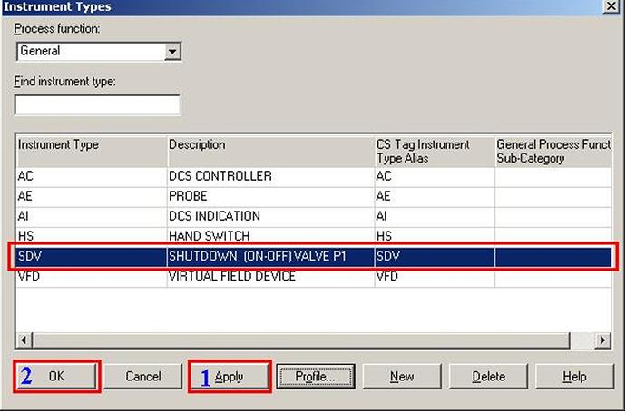 InTools Create Instrument type - 3