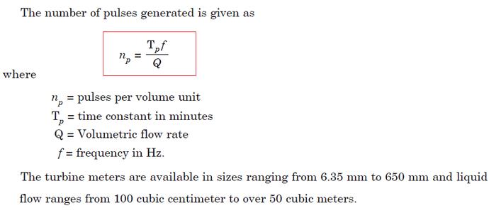 Turbine%20Flow%20Meter%20Equation