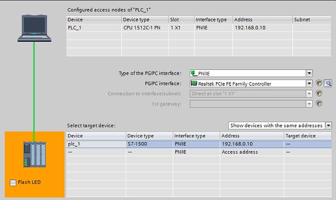 PLC Hardware Detection
