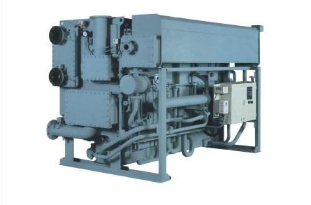 Steam absorption chiller