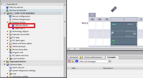 Siemens TIA Portal : Create Functions and Function Blocks