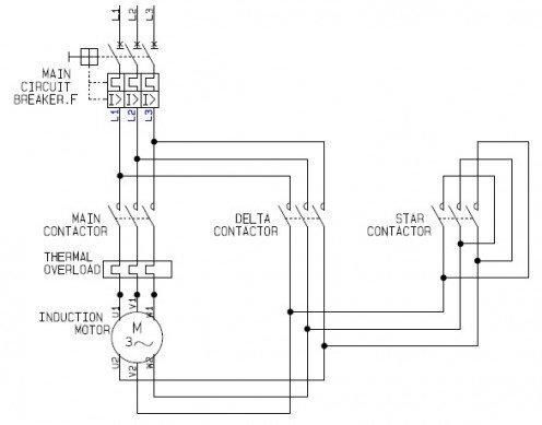 Star Delta Starter Working Principle Electrical Machines Instrumentation Forum